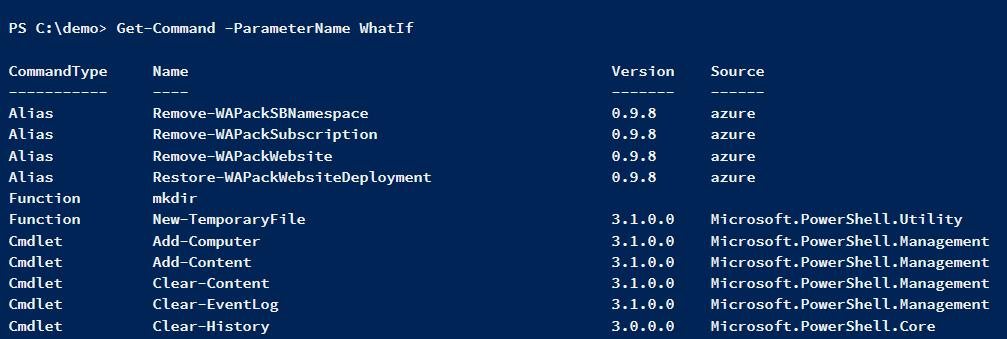 get-command-parameter-whatif
