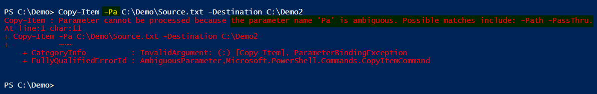 Powershell Best Practice #2: Use named parameter in scripts