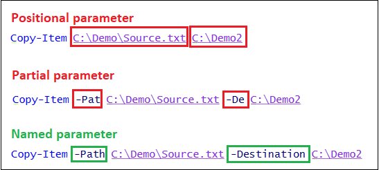 Powershell Best Practice #2: Use named parameter in scripts (not