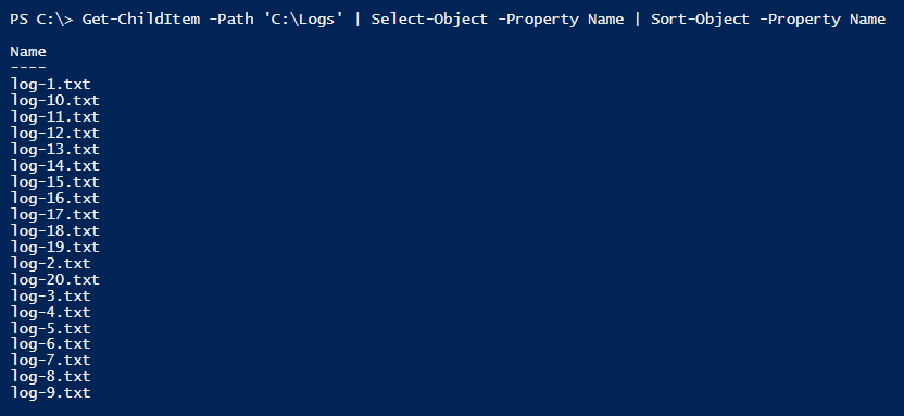 Powershell Bad Code #2: Sort-Object not working with