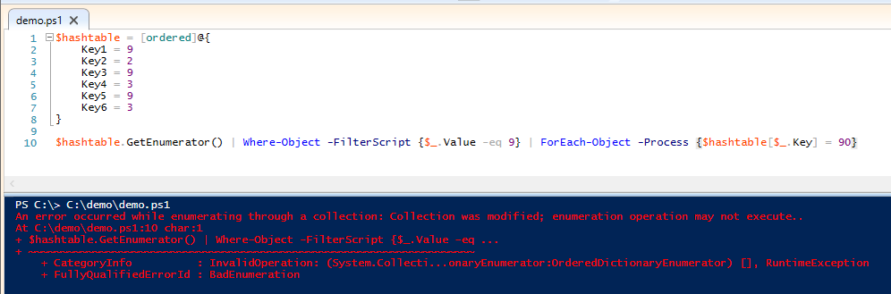 replace-value-hashtable-powershell