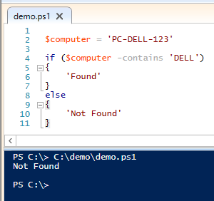 Powershell Bad Code #7: The operator -contains is not ...