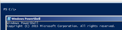 run-powershell-console-since-ise
