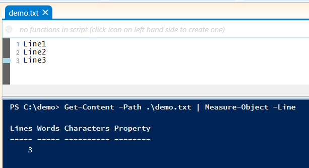 count-number-line-powershell