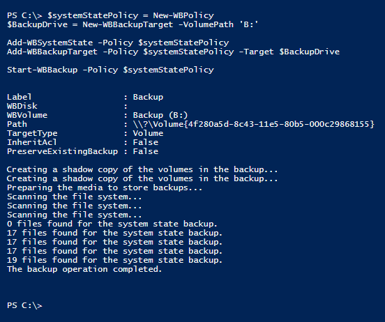 backup-system-state-powershell