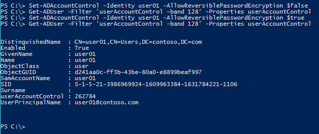 store-password-using-reversible-encryption-powershell-ad-allowreversiblepaswordencryption