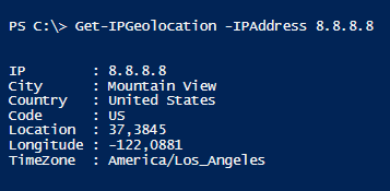 powershell-ip-address-geolocation-city-county-code-timezone-latitude-longitude
