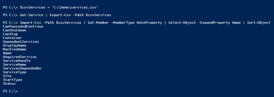 list-headers-of-csv-file-with-powershell